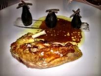Hen Pheasant and jerusalem artichokes