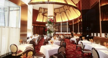 Tented interior at Le Cirque - photo from Le Cirque Website
