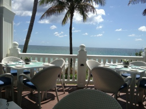 View from Pelican Grand.