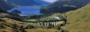 Jacobite train and Glenfinnan viaduct