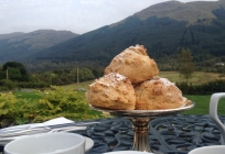 Monachle Mhor afternoon tea