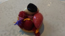 Ledbury - Raspberry tartlet