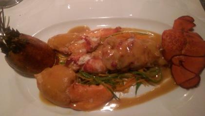 White Barn Inn - USA - Lobster fettucini (5)