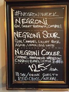 Negroni Board